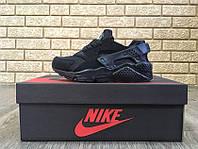 Кроссовки Nike Huarache Woman 36,37,38,39, чёрный