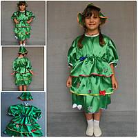 Детский карнавальный новогодний костюм Ёлка