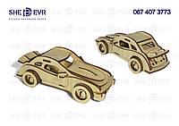 3D Porsche * МДФ