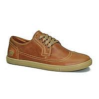 Кожаная обувь CR-7 Рыжие Ginger (41-43)