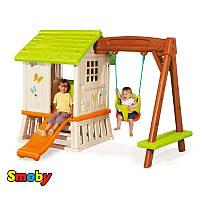 Оригинал. Детский игровой домик Forest Hut Smoby 810601