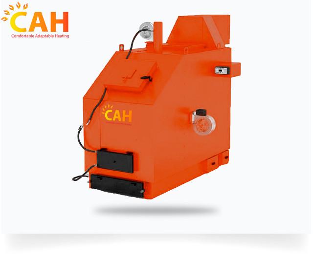 Промисловий твердопаливний котел САН PG потужністю 150 кВт