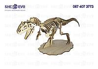 3D Динозавр Аллозавр 2 МДФ