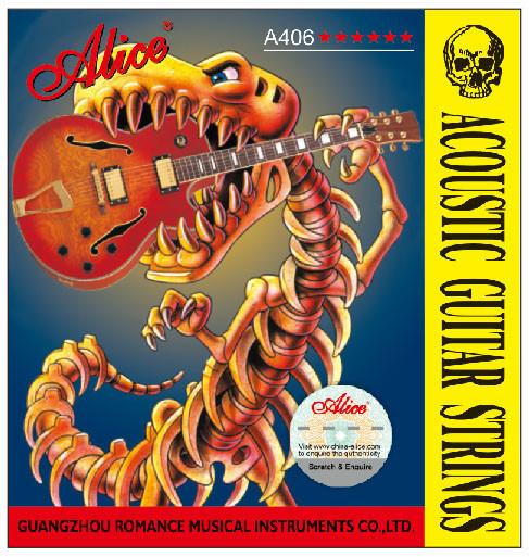 Струны для акустической гитары Alice A406-L (в комплекте 6 струн) - VeLife в Закарпатской области