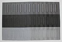 Салфетки-подложки для защиты стола (сетка) 30х45 см трехцветные