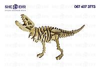 3D Динозавр Тиранозавр 2 МДФ