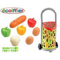 Оригинал. Детская тележка с продуктами Ecoiffier 977