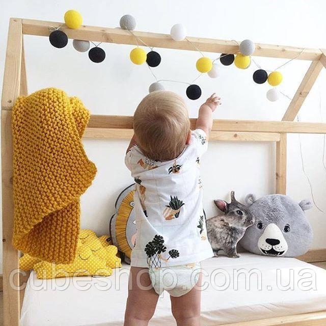 Тайские гирлянды в детской комнате