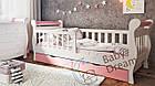 Детская кровать от 3 лет с бортиками для девочки Miss Secret, фото 4