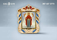 Икона с бисером 18х14 (вид 2)