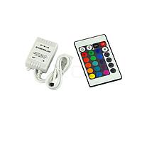 Контроллер RGB инфракрасный (IR) пульт на 24 кнопки 6A