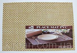 Сервировочные коврики, подставки, коврики для сервировки (крупная сетка) 30х45 см
