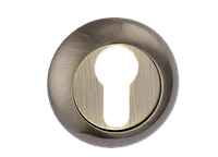Накладка дверная под цилиндр MVM E9 AB (старая бронза)