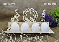Подставка для яиц Зайцы (прямоугольная)
