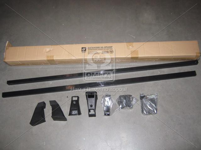 Багажник на крышу, универсальный , стальной, 122см., без водостоков Lanos, Славута  (арт. CP-322), AEHZX