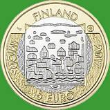 Финляндия 5 евро 2017 г. Президент Ристо Рюти., фото 2