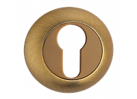 Накладка дверная под цилиндр MVM E9 MACC (матовая бронза)