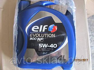 Масло ELF Evol NF 4л 5W40 (синтетика) Original