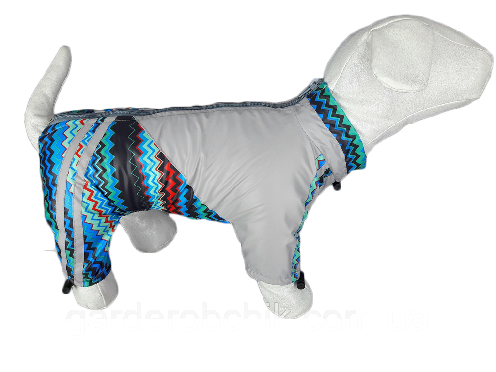 Дождевик, комбинезон для собак с утеплителем. Одежда для собак