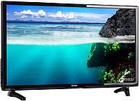 Телевизор плоскопанельный Bravis LED-24F1000+T2 black