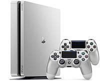 Игровая приставка Sony PlayStation 4 Slim 500GB Silver + 2 Геймпада