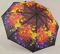 """Женский зонт полуавтомат """"абстракция"""" на 8 карбоновых спиц от фирмы """"SL"""""""