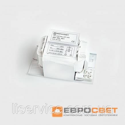 Балласт Евросвет ДНАТ-400w для ламп МГЛ и ДНАТ