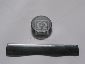 Заглушка бампера ГАЗ 3302 нового образца серая (Производство ГАЗ) 3302-2803306-10