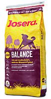 Josera Balance senior 15кг - Полнорационный корм для стареющих собак