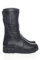 Зимние кожаные ботинки Астра-15н