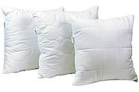 Подушка декоративная белая Руно 40х40см