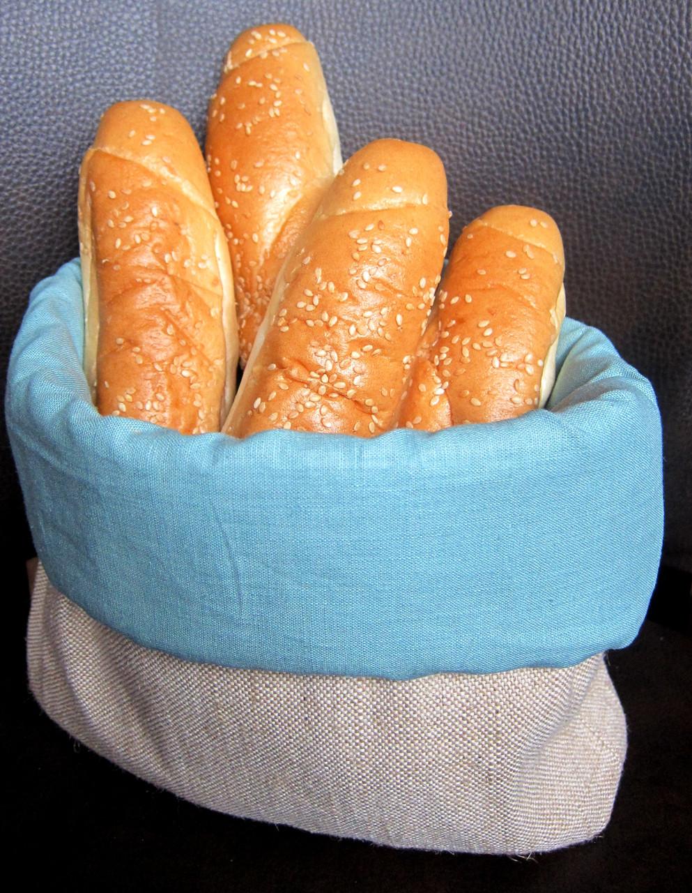 Мешочек для хлеба Atteks текстильная хлебница - 1240