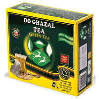 Чай зелёный пакетированный Akbar Do Ghazal 200g, Харьков
