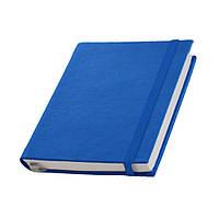 Записная книжка Туксон  White Line,белый блок в линейку, кожзам, синяя