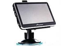 "GPS навигатор 5"" Pioneer HD - FM-трансмиттер - Mp3"