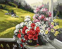 """Картина по номерам """"Лето в деревне"""""""
