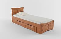 """Кровать """"Созвездие"""" 80х200 см. С выдвижными ящиками, Цвет на выбор"""