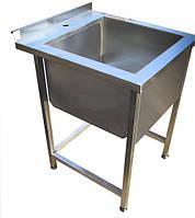 Ванна моечная одинарная, размер 500x600x850.