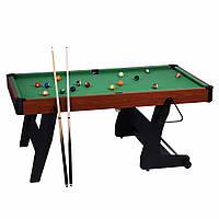 Бильярдный стол складной 6 ft. американский пул