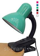 Офісна, учнівська настільна лампа - різні кольори