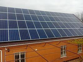 г. Измаил, Одесская обл., Сетевая солнечная электростанция под зеленый тариф 15 кВт Huawei