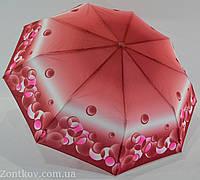 """Женский зонт полуавтомат с """"абстрактным"""" принтом на 9 спиц от фирмы """"SL"""""""