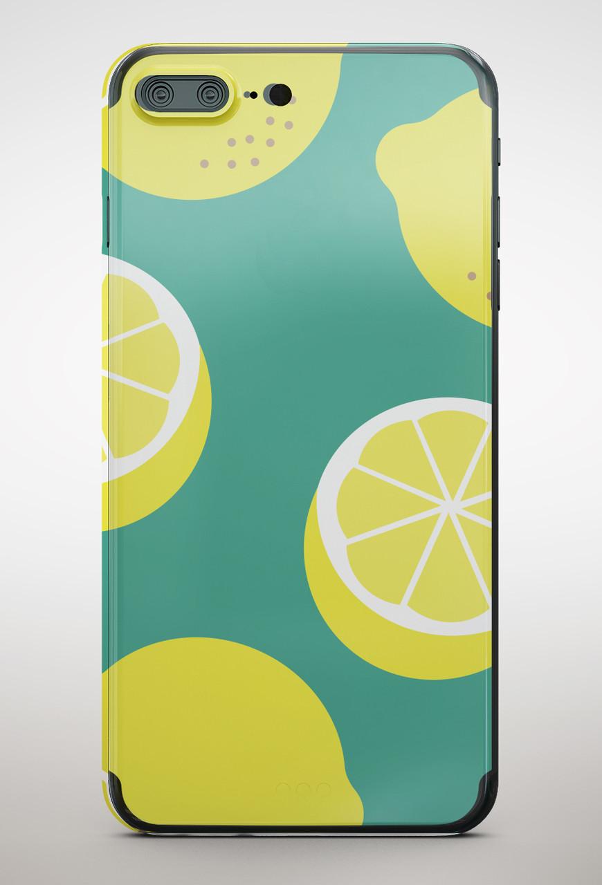 Накладка пластиковая Florence Blackview A7 lemon