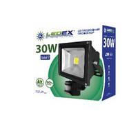 Прожектор светодиодный LEDEX 30W 6500K 2400Lm з датчиком движения