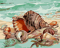 """Картина по номерам """"Дары моря"""" 40*50см"""