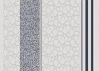 Обои  1,06х10,05 виниловые на флизелиновой основе Жасмин полоса 5051 серые