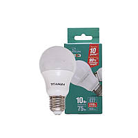 LED лампа Videx TITANUM A60 10W E27 4100K 220V