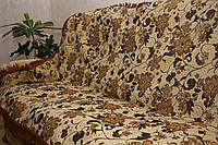 """Люрикс цветы"" комплект на диван и два кресла (дивандеки)"