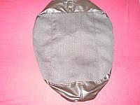 Чехол подушки сиденья МТЗ УК, Т-150, серый Экотекстиль, без подкладки, под шнур