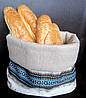 Мешочек для хлеба цветной, текстильная хлебница